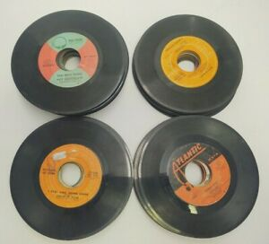 MIXED LOT OF 66 45 RPM RECORDS FROM 1970'S IN GOOD TO VERY GOOD CONDITION ELTON