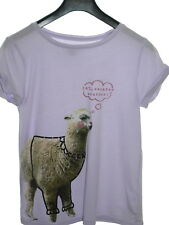 Gap Lilac Summer T-Shirt Age 10 (L) EUC