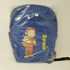 Curious George Boy's Backpack Blue Personalized Evan Zulily