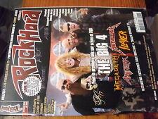 µ? Revue Rock Hard n°103 Kiske Somerville Therion Firewind Volbeat Grave Digger
