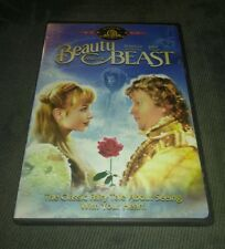 Beauty and the Beast (DVD, John Savage, Rebecca De Mornay 1987 Musical *RARE oop