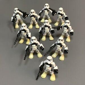 10X Playskool Star Wars Galactic Heroes stormtrooper Trooper Sandtrooper Toys