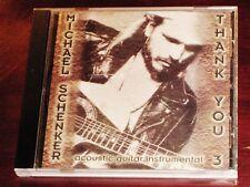 MICHAEL SCHENKER: Thank You 3CD 2001 MICHAEL SCHENKER Records MSR CD7 ORIGINAL