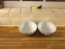 More details for denby everyday cool blue cereal bowls x2 - brand new 2nds