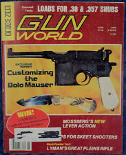Magazine GUN WORLD June 1980 !! MOSSBERG Model 479 RIFLE !!, ** NOLEN Knives **