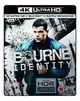 The Bourne Identity (4K UHD Blu-ray + Blu-ray + Digital Download) [2002] [DVD]