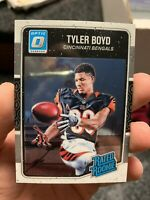 2016 Donruss 1st Year Optic Rated ROOKIE Tyler Boyd #197 Cincinnati Bengals -QTY