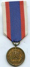 Poland  Polish National Service  Medal In Bronze