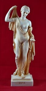 Hera, Juno goddess of women and marriage aged patina greek statue Free Shipping