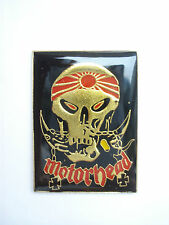 VINTAGE MOTORHEAD HEAVY METAL MUSIC ROCK BAND GOTHIC PIN BADGE LEMMY EDDIE 99p