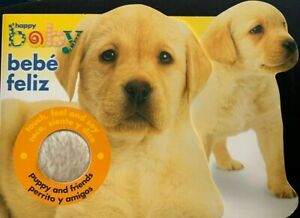 Puppy & Friends (Happy Baby) English and Spanish Board Book, Baby Book
