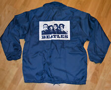*1970's THE BEATLES* vintage rare concert promo jacket (M/L) 70s rock band shirt