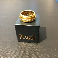 Piaget 18ct Yellow Gold Possession Ring with Diamond, Sapphire, Ruby & Emerald
