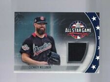 2018 Topps Update All-Star Stiches Relic Corey Kluber