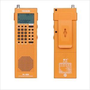 TECSUN PL-368 tragbarer Weltempfänger mit SSB-Empfang - neustes Modell - orange
