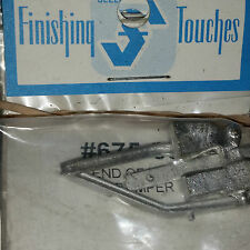 Selley Finishing Touches # 89 End of line Bumper HO NIB