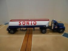 First Gear,Sohio 1960 B-Mack tanker 1:34 scale,RARE ,NIB, stock # 19-1916