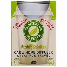 Healing Solutions Coffee Cup Holder Car & Home Diffuser
