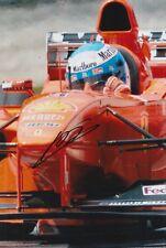 Mika Salo Hand Signed Scuderia Ferrari 12x8 Photo F1 12.