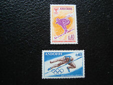 ANDORRE (francais) - timbre yvert et tellier n° 187 190 n** (A19)stamp andorra(A
