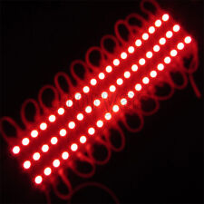 20PCS Red LED Module Modules 5050 3-SMD Waterproof DC12V Light Lamp