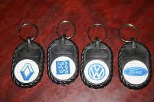 Lot 4 Advertising Keychains Car Brands