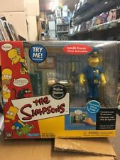 Playmates Toys Simpsons Interactive Police Station Officer Eddie Environment