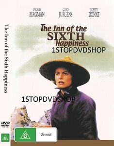 The Inn of the Sixth Happiness DVD Ingrid Bergman New Sealed Australia