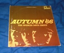 "Spencer Davis Group Fontana (Uk) Mono Lp Tl 5359 ""Autumn '66"" Ec/Ec- Pop R&B"
