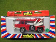 Solido Toner Gam II Pompier Grue Richier N°3102 en boite