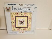 NIB Debbie Mumm Daydreams Collection Counted CrossStitch 72888 Buttons&Butterfly