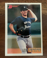 1993 Bowman Andy Pettitte #103 Rookie RC - FREE SHIPPING
