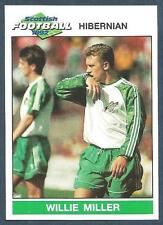 PANINI SCOTTISH FOOTBALL 92-#087-HIBERNIAN-WILLIE MILLER