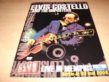 ELVIS COSTELLO - LIVE MEMPHIS!!!!!RARE FRENCH PRESS/KIT