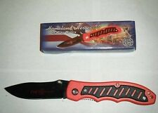 Red Frost Cutlery Fire Fighter 2 Lock Knife 4.5 See My Other Great Knives Too!