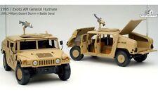 EXOTO 01802 MILITARY DESERT STORM BATTLE SAND GENERAL HUMVEE diecast model 1:18