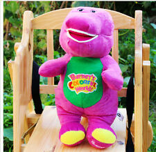 "NEW Singing Barney and Friends Barney 12"" I LOVE YOU Song PLUSH DOLL TOY GIFT"