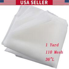 Us 1 Yard 36 L Silk Screen Printing Mesh Fabric 110 43t For Screen Printing New