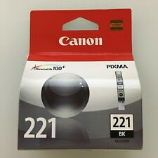 Genuine Canon ink cartridge CLI-221BK MP560 MP620 MP640 MP980 MP990