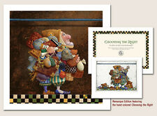 James Christensen HOLD TO THE ROD, THE IRON ROD w/Hand-Colored Remarque AP#50/50