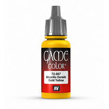 Vallejo Game Color: Gold Yellow - VAL72007 Acrylic Model Paint 17mm Bottle