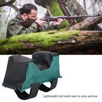 Hunting Shooting Range Sand Bag Set Gun Rifle Bench Rest Stand Front Rear Bag