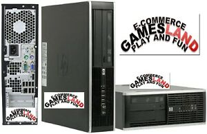 HP COMPAQ 8000 ELITE SFF PC DESKTOP E8400 4GB RAM 250 GB HD-DVD-RW WINDOWS 10