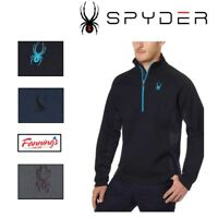 NEW! Spyder Men's Outbound Half Zip Midweight Core Sweater- SIZE COLOR VARIETY!