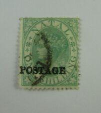 1875 Natal SC #50 used stamp