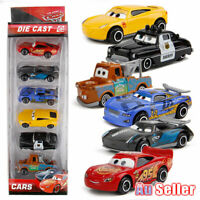 6Pcs Pixar Cars toy Diecast McQueen Set XMAS toy Collection Racer 3 Lightning