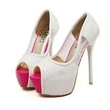 Women's Solid Bridal or Wedding Heels