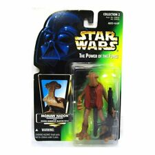 Star Wars: POWER OF THE FORCE TARJETA VERDE Momaw Nadon (Cabeza de martillo)
