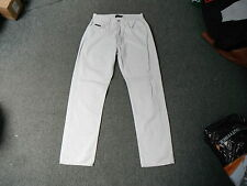"Teddy Smith Classic Straight Jeans Waist 32"" Leg 32"" Faded Ivory Mens Jeans"