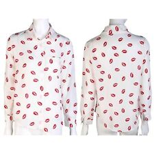 Unbranded Mandarin Collar Tops & Shirts Size Plus for Women